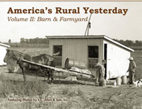 america's rural yesterday - Barn and farmyard